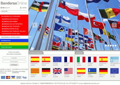 BanderasOnline.com – Venta de banderas y mástiles