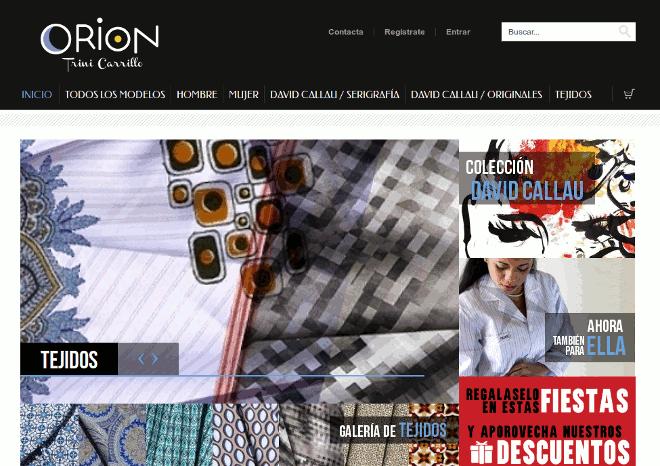 CamisolasOrion.com – Tienda de ropa exclusiva