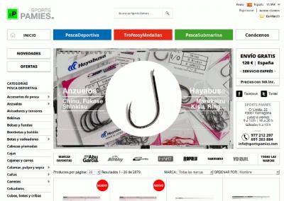 SportsPamies.com – Venta de material deportivo y trofeos