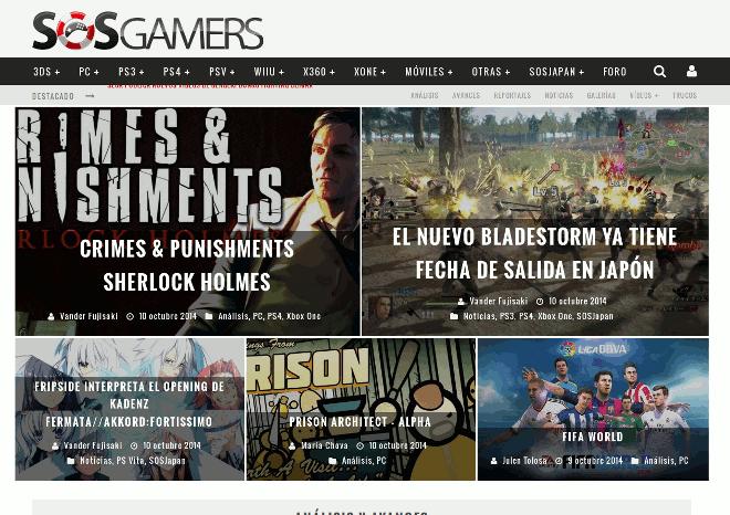 SOSGamers.com – Portal de videojuegos