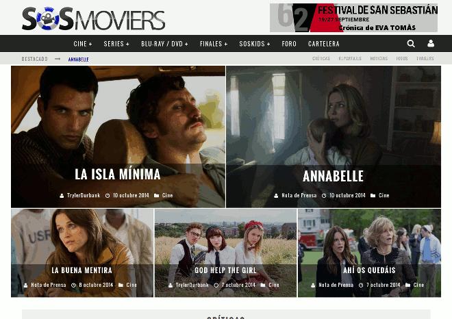 SOSMoviers.com – Portal de películas